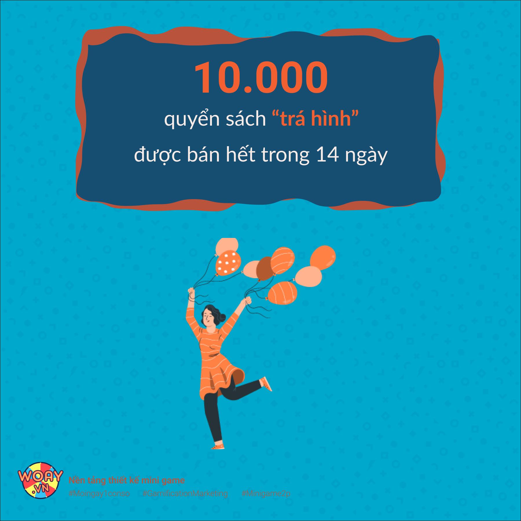 """10.000 quyển sách """"trá hình"""" được bán hết trong 14 ngày."""