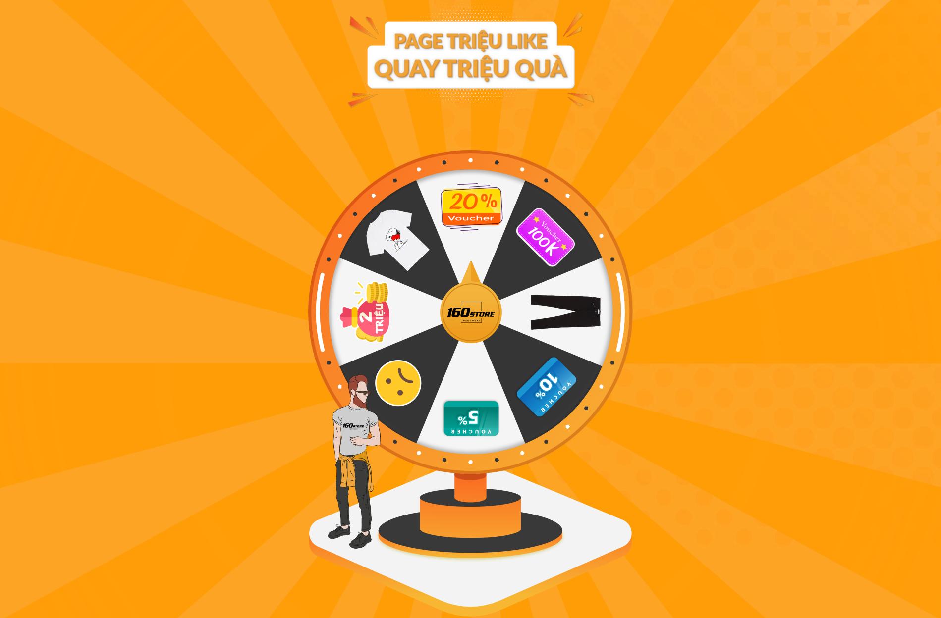 LUCKY WHEEL - Minigame tăng tương tác & doanh số