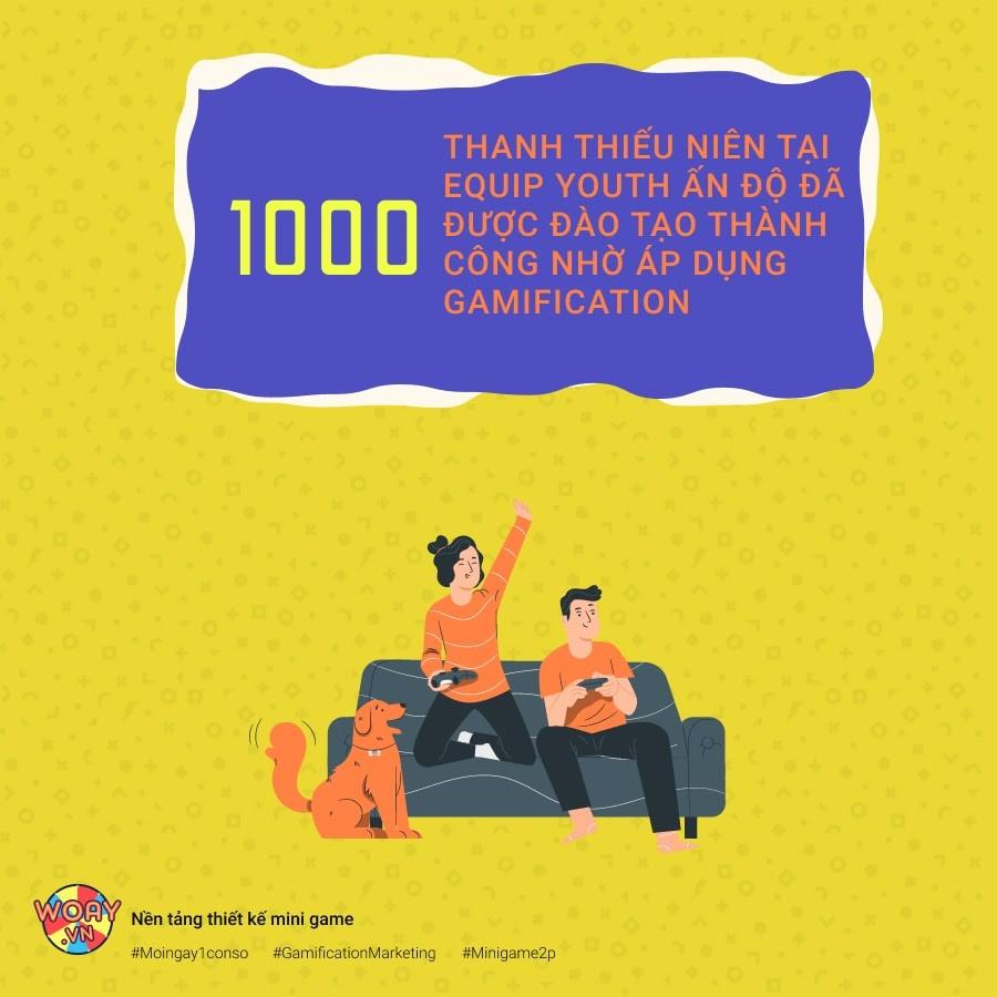 1000 THANH THIẾU NIÊN TẠI EQUIP YOUTH ẤN ĐỘ ĐÃ ĐƯỢC ĐÀO TẠO THÀNH CÔNG NHỜ ÁP DỤNG GAMIFICATION