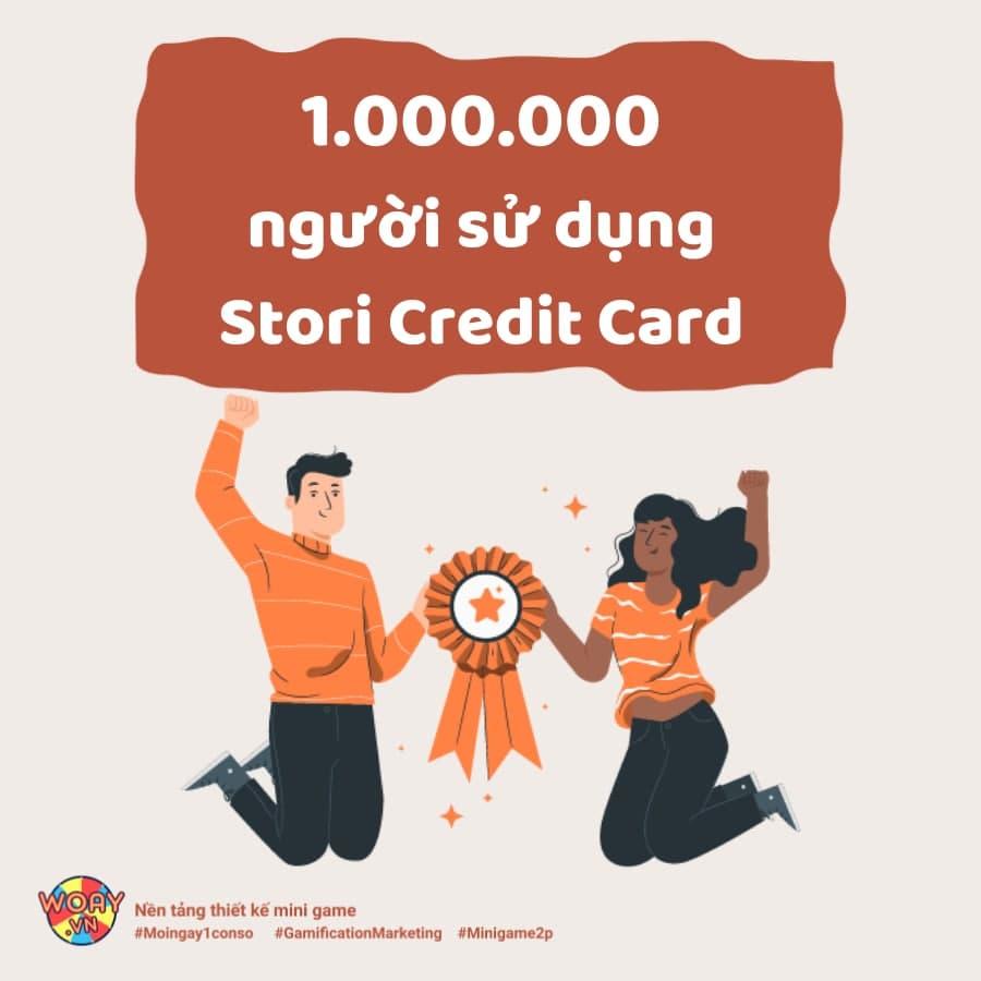 Hơn 1.000.000 người sử dụng Stori Credit Card nhờ ứng dụng Gamification