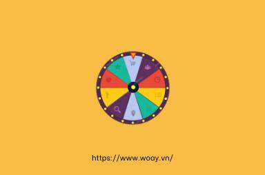 Sử dụng vòng quay may mắn cho các sự kiện lớn thu hút khách hàng